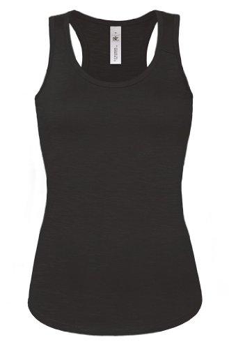 B&C Damen Tank Top 'Patti Slub' Patti Slub /women Chic Black S