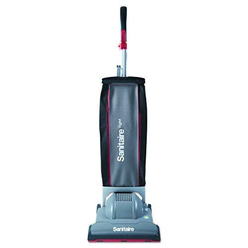 Sanitaire SC9050D EURSC9050D DuraLite Commercial Upright, 10.7 lb., Gray/Red ()