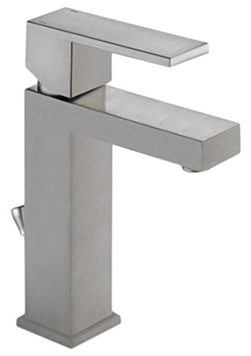 Delta Faucet 567LF-SSPP Modern Single Handle Bathroom Faucet, Stainless by DELTA FAUCET