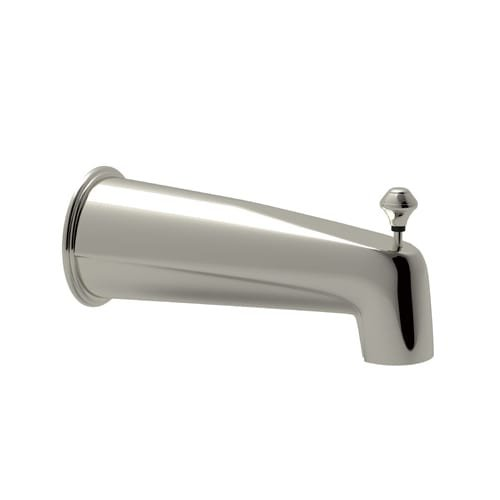 Polished Nickel Spout - 8