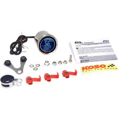 Orange Cycle Parts DL Style Electronic Speedometer for Harley Davidson Models