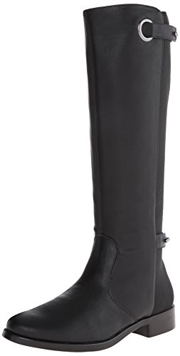 Aerosoles Women's One Wish Riding Boot,Black,8.5 M US (One Aerosol)