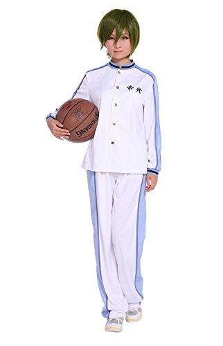COSROOM Kuroko no basuke Kuroko Tetsuya Teiko Uniform cosplay costume Female S