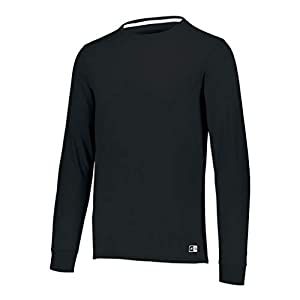 Russell Athletic Men's Cotton Performance Long Sleeve T-Shirt