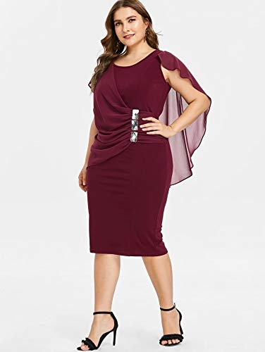 Amazon.com: Vestidos Tallas Grandes Más El Tamaño De Las ...