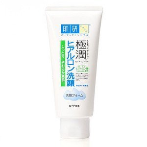 Hadalabo Japan goku jyun Super Hyaluronic Acid Cleansing Foam (100g/3.3 fl.oz) by Hada Labo (Cleansing Ounce Foam 3.3)