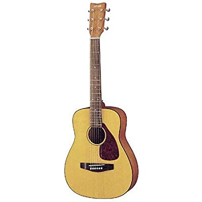 Yamaha FG JR1 3/4 Size Acoustic Guitar with Gig Bag - (Natural): Musical Instruments