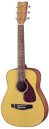 Yamaha FG JR1 3/4 Size Acoustic Guitar with Gig Bag - (Natural) by YAMAHA