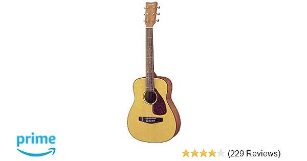 Amazon com: Yamaha FG JR1 3/4 Size Acoustic Guitar with Gig