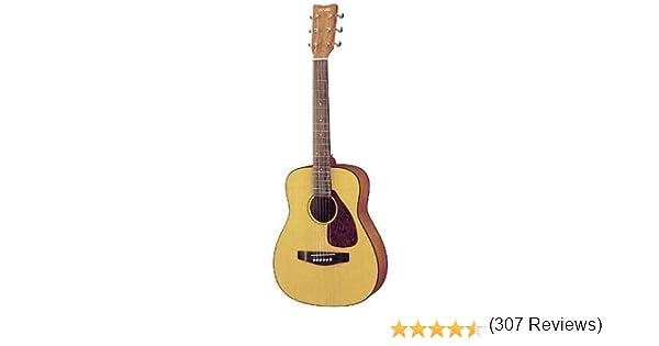 Yamaha JR1 - Guitarra acústica con funda (tamaño 3/4, acabado ...