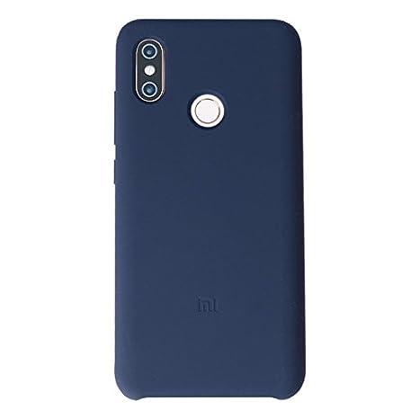 Amazon.com: Mi8 - Carcasa de silicona para teléfono móvil ...