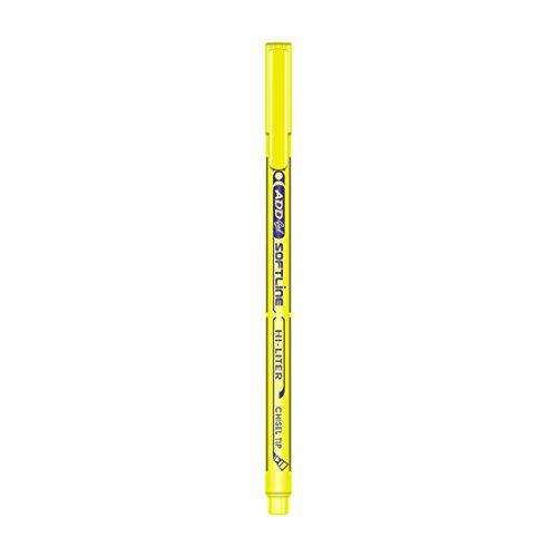 ADD Pens Softline Hi-Liter Pen - Pack of 10 (Yellow)