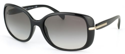 Prada Sunglasses - PR08OS / Frame: Black Lens: Gray - Prada Womens Black Sunglasses