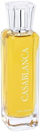 Casablanca, Eau de Parfum (100mL) | Sweet Gourmand Fragrance Built Around Amber, Peru Balsam, Musk, Suede and Liquid Caramel