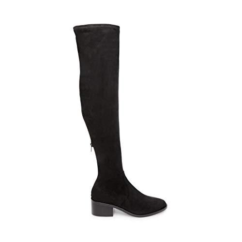 Steve Madden Women's Georgette Fashion Boot, Black, 8 M US