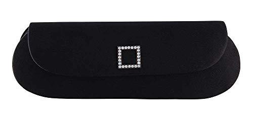 Lauren Carlo Snap Evening Black Fellini Purse 2501 Bag Handbags Closure N Prom Womens Wedding Clutches Clutch Magnetic qErq1nzxU