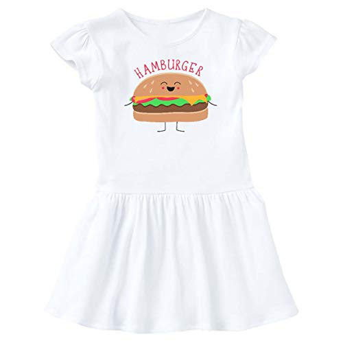 inktastic - Hamburger Costume Infant Dress 12 Months White 31d0b ()
