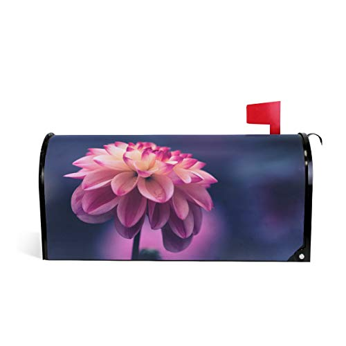 Mailbox Magnetic Cover Flower Bloom View Medium Large Capacity Post Box Covers 25.5 x 20.8 inch Oversized