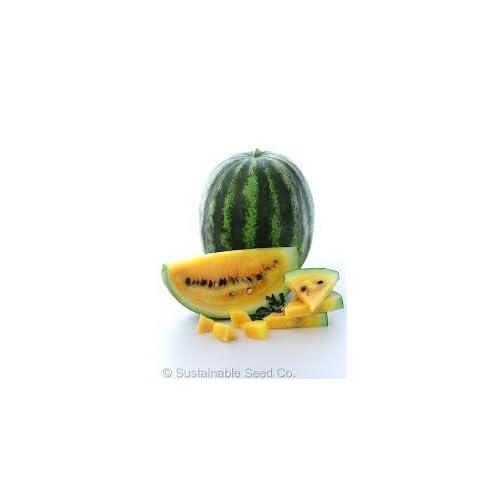 Cheap HeirloomSupplySuccess 25 Heirloom Yellow crimson Watermelon seeds supplier