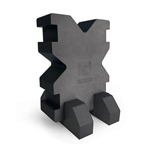 Highwild Foam Rifle and Pistol XBlock Shooting Bench Rest with Base (1 Pack)