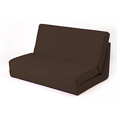 Pull Out Fixed Base Foam Z Bed Futon Guest Day Bed Mattress Sofa