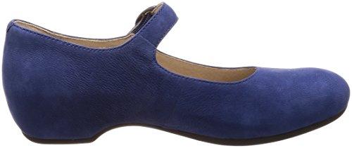 Women's Blue Nubuck Dansko Milled Flats Linette SOxnRzdq