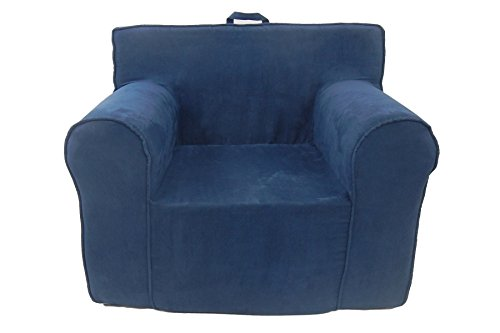 Fun Furnishings Everywhere Foam Chair, Navy Blue by Fun Furnishings