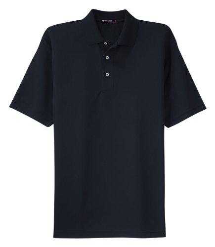Sport Tek Mesh Shirt (Sport-Tek Men's Dri Mesh Polo XL Navy)