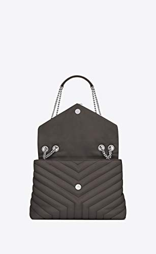 b4b314a938f57d Paper Yves Saint Laurent monogramme loulou loulou medium in matelasse-y-leather  shoulder bag