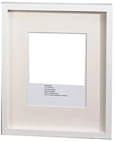 Amazoncom Gwi Gallery Picture Frame With White Frame 14 X 17 In