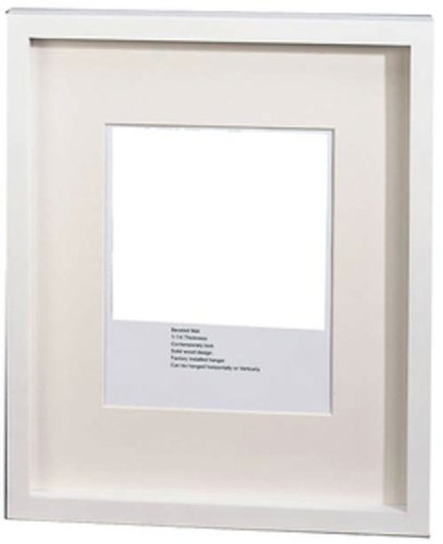 Amazon.com - GWI Gallery Picture Frame with White Frame - 14 x 17 in ...