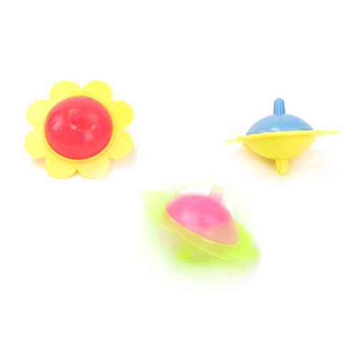 toys & games, novelty & gag toys,  novelty spinning tops  picture, Super Z Outlet Mini Hand Finger Spinner Tops Twisting Plastic Flower Prize Toys for Children Birthday Party Favors (36 Pack) promotion1