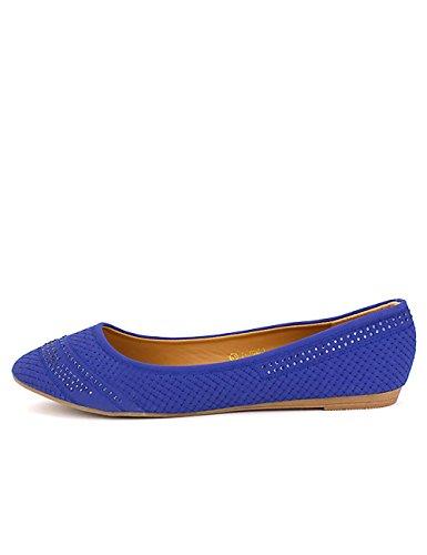 Cendriyon Chaussures Blue Femme Ballerine Mode ROYALA 0ATqx0wrU