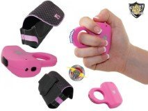 Pink-Sting-Ring-Stun-Gun-and-Body-Glove-Pink-and-Black-Holster