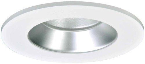 HALO Recessed TL402HS 4-Inch LED Trim Shower Rated Solite Regressed Lens with Haze Reflector