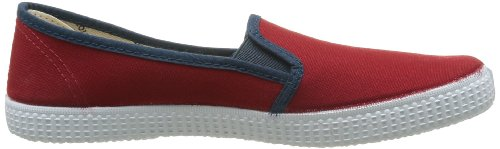 Mode Slip Victoria Rouge Adulte Baskets On carmin Mixte FBx8wq1t