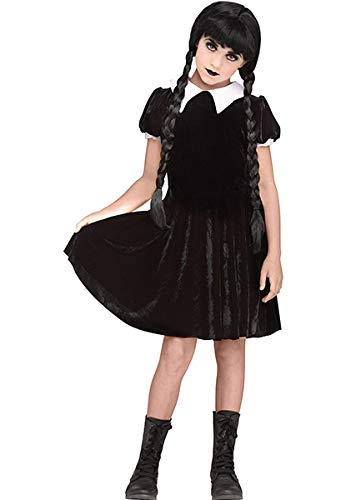 Fun World Gothic Girl Child Costume, Multicolor, X-Large -
