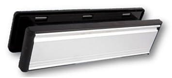 80/mm 30,5/cm /épaisseur 40 Entr/ée de bo/îte aux lettres pour portes UPVC /& Bois