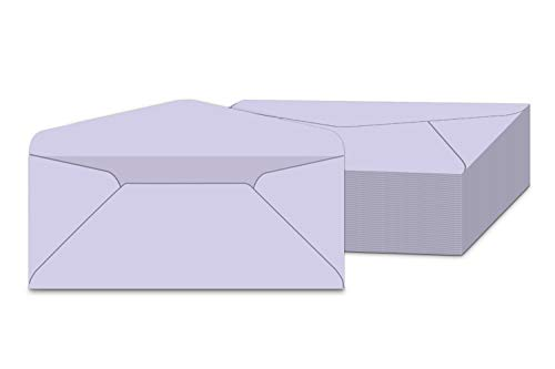 #10 Orchid Pastel Color Envelopes | Colored Standard Business Size Mailers | Value Pack of 500 per Pack | 4 1/8 x 9 1/2 Inches (Orchid)
