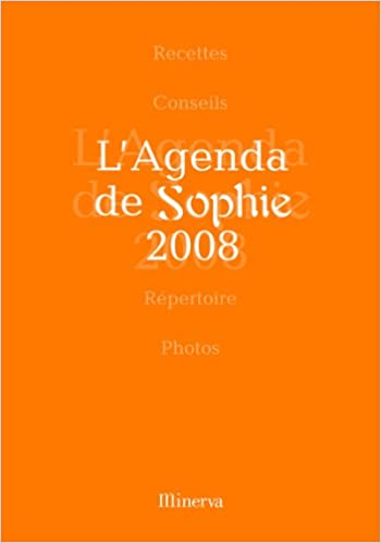 Agenda de Sophie 2008 (l): 9782830709643: Amazon.com: Books