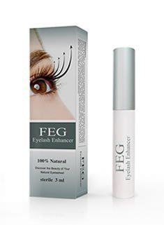 FEG Eyelash And Eyebrow Brow Enhancing & Lengthening Serum. 100% NATURAL & Highest Quality Ingredients Used. For Best Results Eye Lash and Eye Brow Enhancer And Long Thick EyeLashes and Eyebrow Hair Growth and Regrowth. Rated Best Eyelash Growth Treatment & Eyebrow Growth Treatment. Accelerate your Eye Lash and Eye Brow Growth With This Highest Rated Growth Serum.