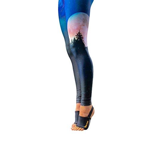 Yoga Paws Skin Thin - Non-Slip Grip Toeless Socks & Fingerless Gloves - Engineered Fit - Best Yoga Mats For Hands & Feet - Unmatched Performance - Yoga, Pilates, Fitness - Unisex Design 4 Men & Women