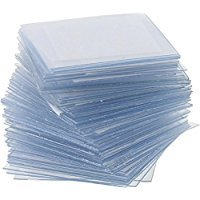 American Scientific Plastic Microscope Slide Cover Slips - 100 Pack