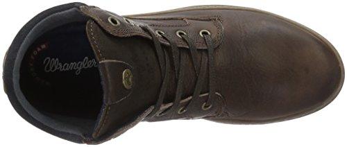 Wrangler Historic, Zapatillas de Estar por Casa para Hombre Marrón - Braun (30 Dk. Brown)