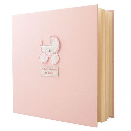 Personalised Large Baby Girl Photo Album Gift Amazoncouk