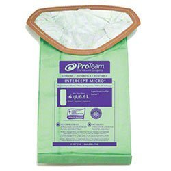 Zoom Supply Proteam 107314 Vacum Bags, Industrial-Grade Proteam SuperCoach Vacum Bags, SuperCoach Pro 6 Vacum Bag Filters -- Trap Dangerous Airborne Invisible Partciulates (100331 Vacuum Bag)