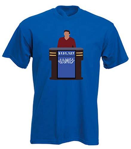 T-shirt Adult James - Shedd Shirts Blue James Holzhauer Jeopardy Funny T-Shirt Adult