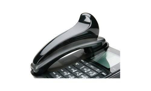 AbilityOne - Telephone Shoulder Rest - Black, Curved Shape 7520-01-592-3859