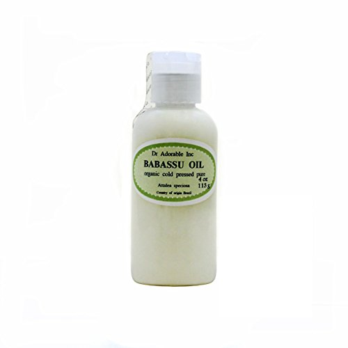 Organic Pure Carrier Oils Cold Pressed 4 oz (Babassu Oil)