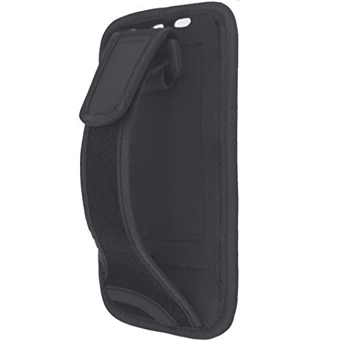 i2 Gear Hand Held Case - Compatible with iPhone 8 7 6 5 SE, iPod Touch 6 and Galaxy S5 with Adjustable Strap and Card Holder